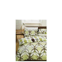 Tesco Retro Eye Print Duvet Set Kingsize, Multi Reviews