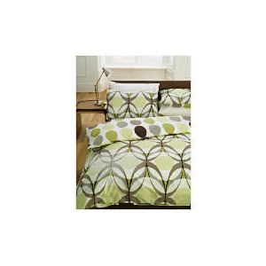 Photo of Tesco Retro EYE Print Duvet Set Kingsize, Multi Bed Linen