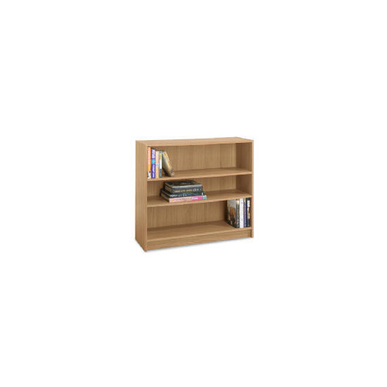 3 shelf 80cm Bookcase, Oak effect