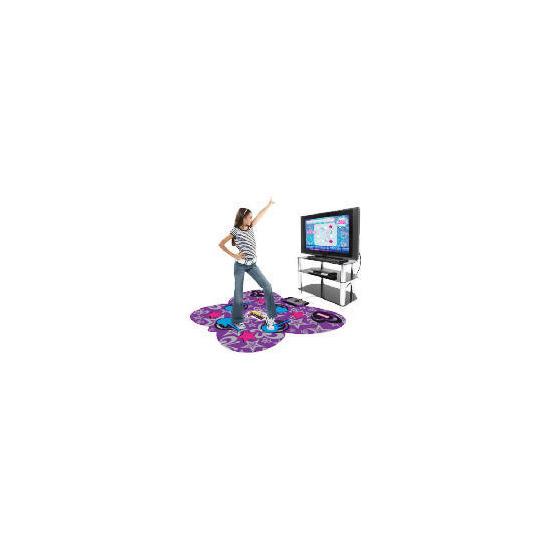 Hannah Montana Rock The Stage Dance Mat