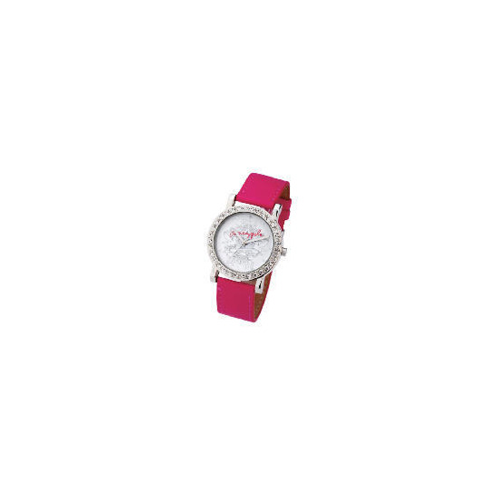 PINEAPPLE PINK DIAMONTE SET WATCH