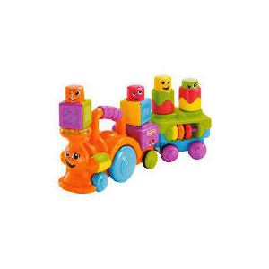 Photo of Fisher-Price Stack On Action Choo Choo Toy