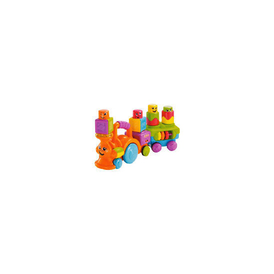 Fisher-Price Stack On Action Choo Choo