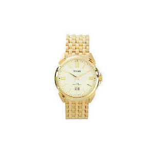 Photo of Pulsar Men Gold Bracelet Roman Numeral Watches Man