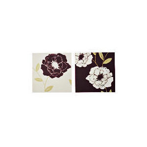 Photo of Eco Floral Canvas Set Of 2 60X30CM Home Miscellaneou