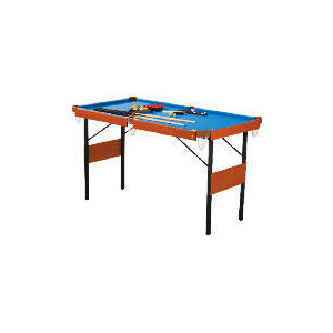 Photo of 4FT 6 2 IN 1 Snooker and Pool Table Sports and Health Equipment
