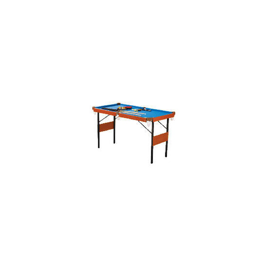 4FT 6 2 IN 1 Snooker and Pool Table