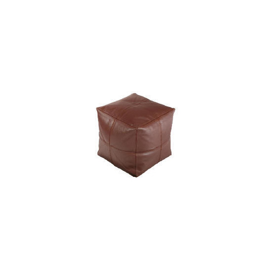 Real Leather Bean Cube Chocolate