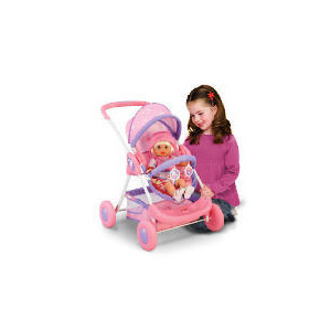 Photo of My Baby Sweet As Me Deluxe Stroller/Pram Toy