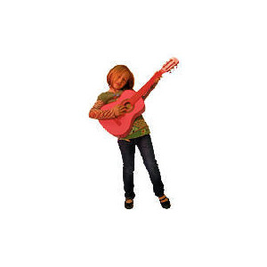 Photo of Bontempi Half Size Pink Wooden Guitar Toy