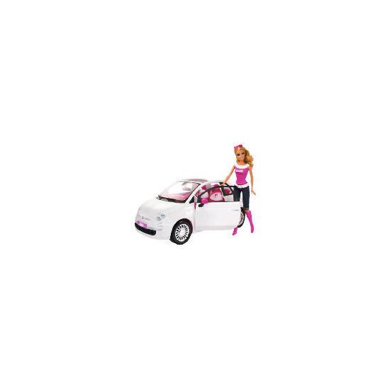 Barbie Doll & Fiat Car
