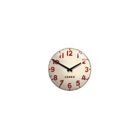 Jones & Co Simpson Tin Clock