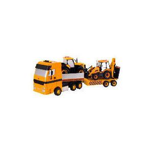 Photo of JCB Transporter & Backhoe Toy