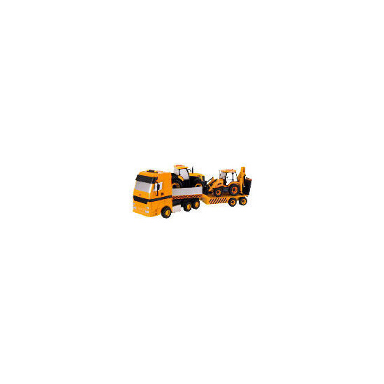 JCB Transporter & Backhoe