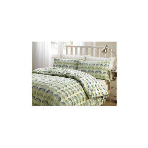 Photo of Tesco Retro Print Duvet Set Single, Multi Bed Linen