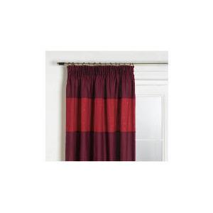Photo of Tesco Texas Embroidered 117X183CM, Plum Curtain