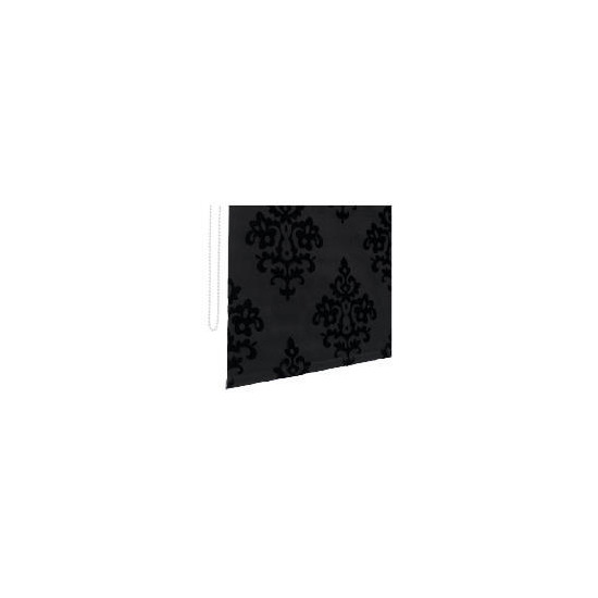 Designed Roller Blind 120cm Regal Black