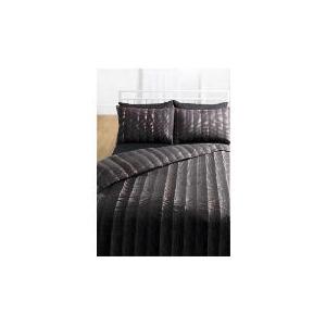 Photo of Tesco Dotty Print Duvet Set Single, Black Bed Linen