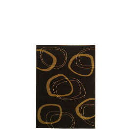 Tesco Patina Double Circles Rug 120x170cm Chocolate Reviews