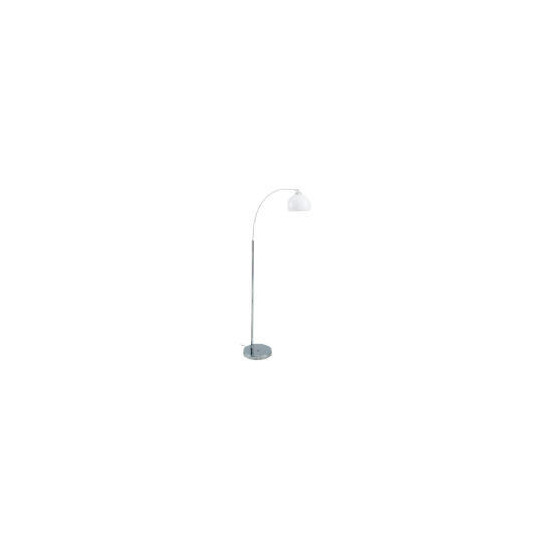 Tesco Arc Floor Lamp, Chrome