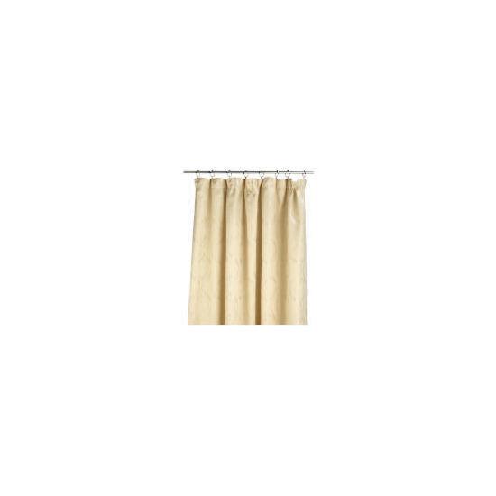 Tesco Metallic Jacquard Lined Pencil Pleat 229x229, Cream