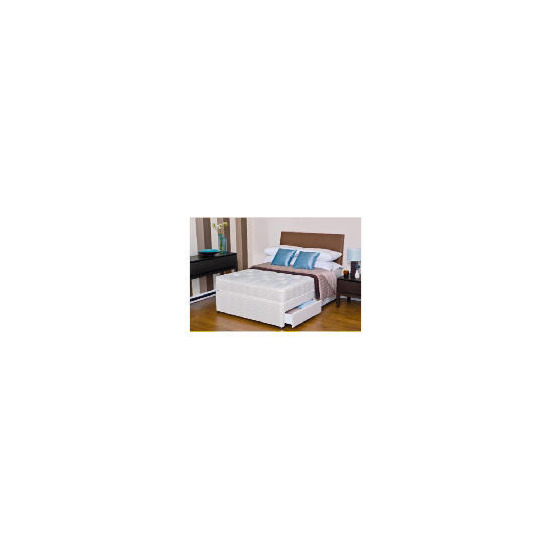 Silentnight Miracoil 3-Zone Maine Ortho Double 2 Drawer Divan Set