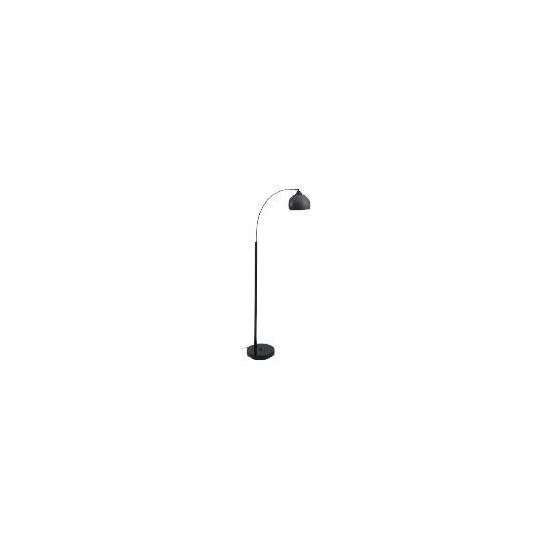 Tesco Arc Floor Lamp, Black