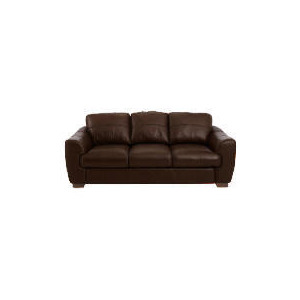 Photo of Milano Large Leather Sofa, Chocolate Furniture