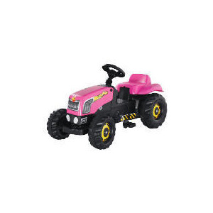Photo of Pink Pedal Tractor Toy