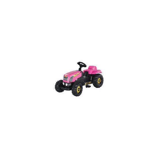 Pink Pedal Tractor