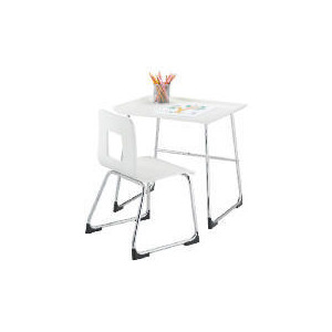 Photo of Doodle Desk & Chair, White Furniture