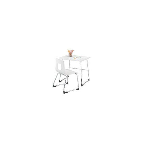 Doodle Desk & Chair, White