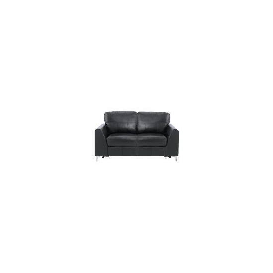 Westport large Leather Sofa, Black