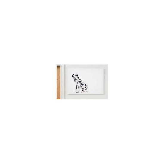 dalmatian printed canvas 50x70cm reviews and prices reevoo