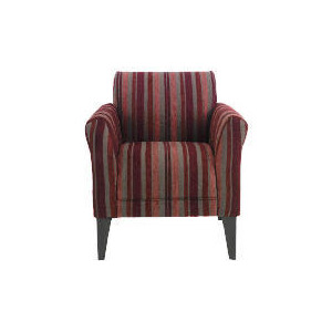Photo of Metro Occasional Chair, Plum Stripe Furniture