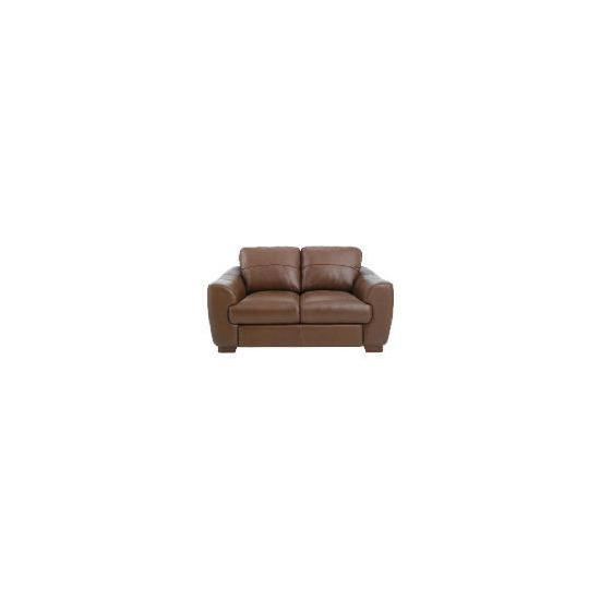 Milano Leather Sofa, Cognac