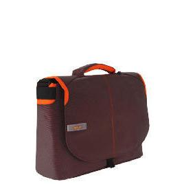 "Techair brown/ orange 15.6"" messenger bag Reviews"