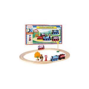 Photo of Thomas The Tank Engine & Rosie Wooden Starter Set Toy