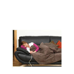 Prolectrix Electric Heated Soft Throw Brown Reviews
