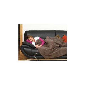 Photo of Prolectrix Electric Heated Soft Throw Brown Electric Heating