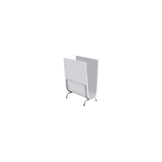 Prado Magazine Holder, White