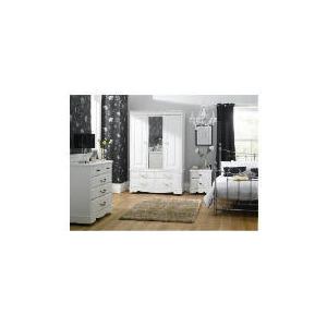 Photo of Dorset 3 Door Robe Large Room Set White Furniture
