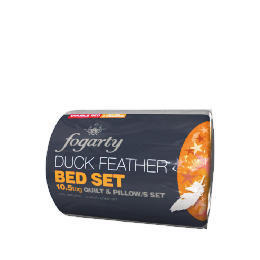 Fogarty Feather bed in a bag set 10.5 Tog, King Reviews