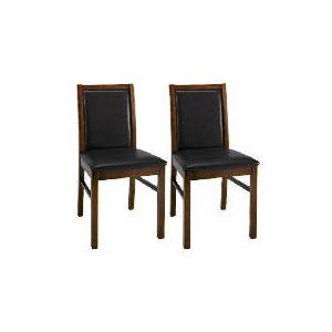 Photo of Pair Of Hanoi Chairs, Walnut Furniture