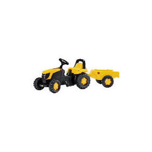 Photo of JCB Pedal Tractor With Trailer Toy