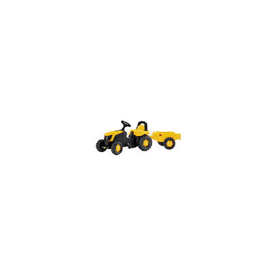 JCB Pedal Tractor with Trailer