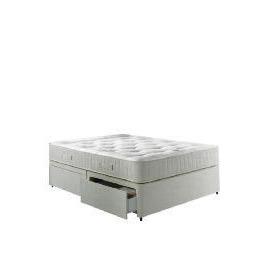 Wembury Non-Storage King Size Divan Set With Deep Ortho Cushion Top Mattress Reviews