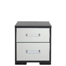 Sophia 2 Drawer Bedside Chest Mirrored Reviews