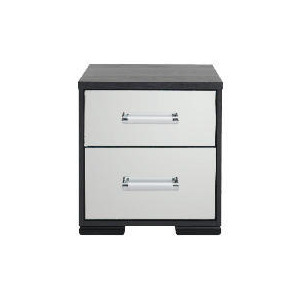 Photo of Sophia 2 Drawer Bedside Chest Mirrored Furniture