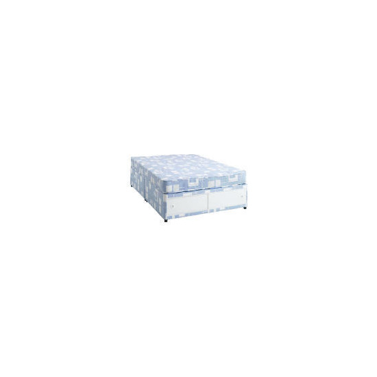 Tesco Value Double Sllidestore Divan Set